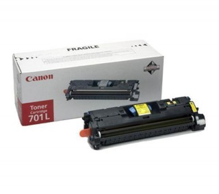 Canon Cartridge 701 Yellow