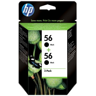 Картридж HP C9502AE (№ 56) 2 pack